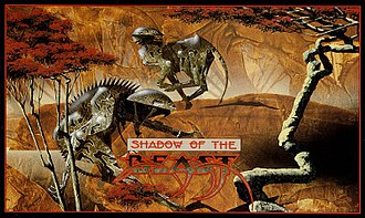 Shadow of the Beast - Cover art by Roger Dean