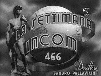 """La Settimana Incom - """"La Settimana Incom"""" title screen"""