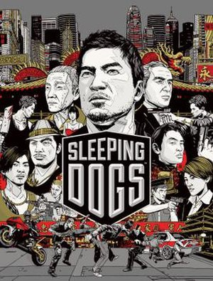 Sleeping Dogs (video game) - Image: Sleeping Dogs Square Enix video game cover
