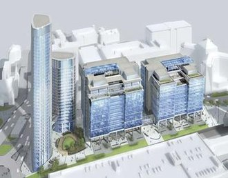 Snowhill - Artists impression of the Snowhill development upon completion.