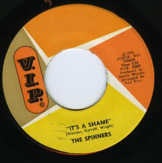 It's a Shame (The Spinners song) - Image: Spinners 45 It's A Shame