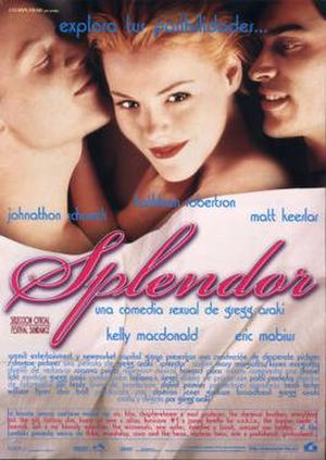 Splendor (1999 film) - Spanish theatrical release poster