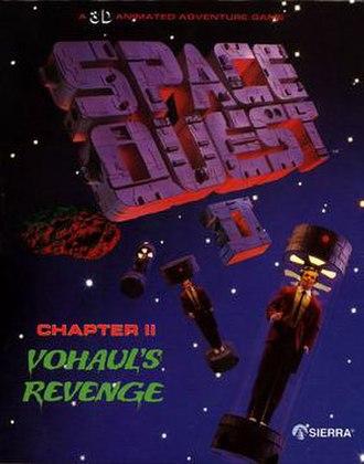 Space Quest II - Image: Sq 2 boxart