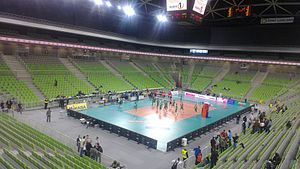 2017 FIVB Volleyball Women's U23 World Championship - Image: Stožice Arena 2013