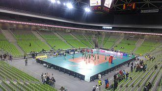 UEFA Futsal Euro 2018 - Image: Stožice Arena 2013