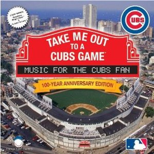 Go, Cubs, Go - The song was included in a 2008 MLB-licensed Cubs songs and sounds album celebrating the 100th anniversary of the Cubs' 1908 World Series victory.