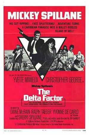 The Delta Factor (film) - Original film poster