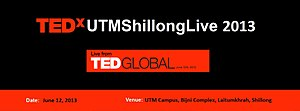 University of Technology and Management - TEDx Conference at UTM Shillong.