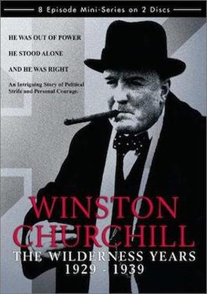 Winston Churchill: The Wilderness Years - DVD cover art