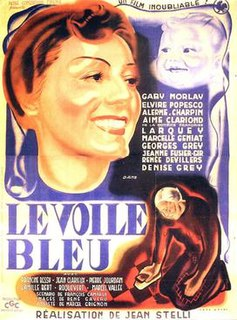 <i>The Blue Veil</i> (1942 film) 1942 French drama film directed by Jean Stelli