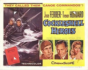 The Cockleshell Heroes - US cinema poster