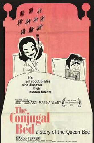 The Conjugal Bed (1963 film) - Film poster
