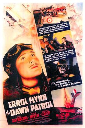 The Dawn Patrol (1938 film) - 1938 US Theatrical Poster