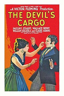 <i>The Devils Cargo</i> 1925 film by Victor Fleming