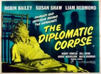 The Diplomatic Corpse - Image: The Diplomatic Corpse (1958 film)