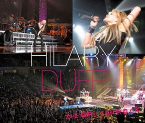Hilary Duff: The Concert – The Girl Can Rock - Image: The Girl Can Rock Japan