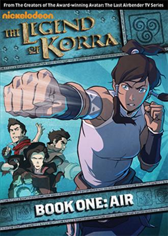 The Legend of Korra (season 1) - DVD cover art