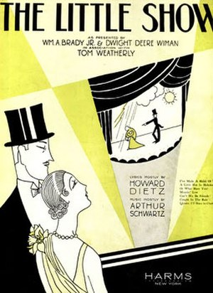 The Little Show - Sheet music cover (cropped)