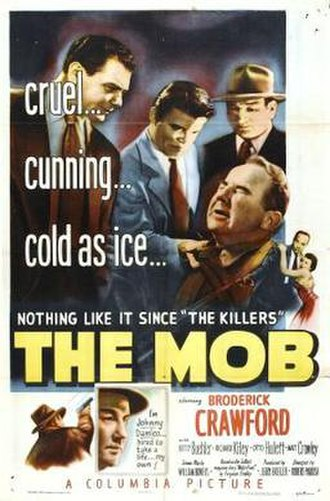 The Mob (film) - Theatrical release poster