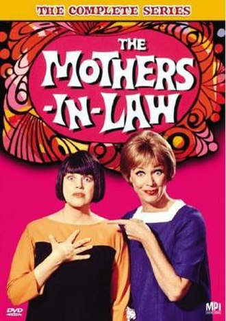 The Mothers-in-Law - DVD cover, with Kaye Ballard (left) and Eve Arden