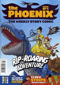 Image result for the phoenix comic