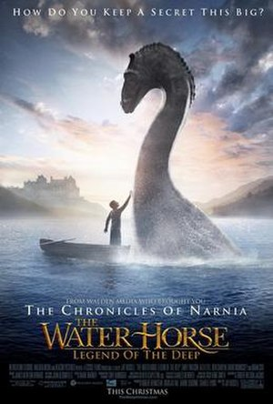 The Water Horse: Legend of the Deep - Theatrical release poster
