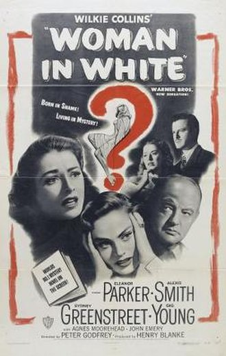 The Woman in White (1948 film) - Theatrical release poster