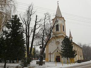 Leopoldov - Image: The church in Leopoldov 3