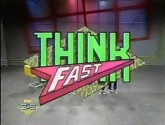 Think Fast (1989 game show) - Image: Think Fast Logo