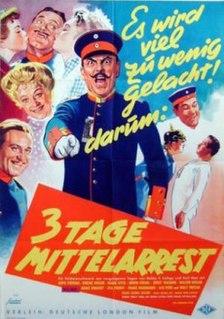 <i>Three Days Confined to Barracks</i> (1955 film) 1955 film