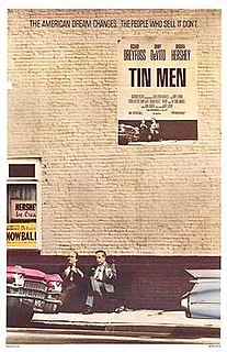 <i>Tin Men</i> 1987 dark comedy film directed by Barry Levinson