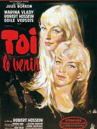 Toi, le venin - Theatrical poster