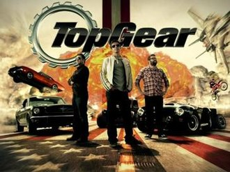 Top Gear (U.S. TV series) - Top Gear title card from season 2