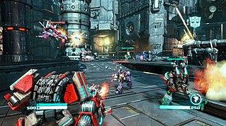 Transformers: Fall of Cybertron - Image: Transformers foc mp screenshot