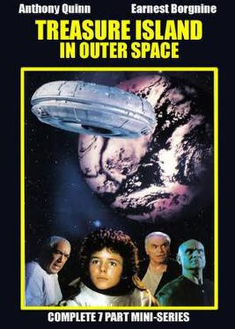 Treasure Island in Outer Space - DVD cover