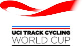 UCI Track Cycling World Cup - Image: UCI Track Cycling World Cup Logo