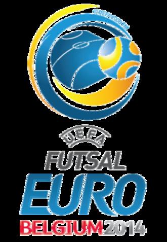 UEFA Futsal Euro 2014 - Image: UEFA Futsal Euro 2014 logo