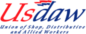 Union of Shop, Distributive and Allied Workers - Image: USDAW logo