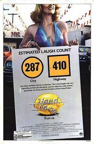 Used Cars - Theatrical release poster