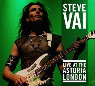 Live at the Astoria, London - Image: Vai Live Astoria CD