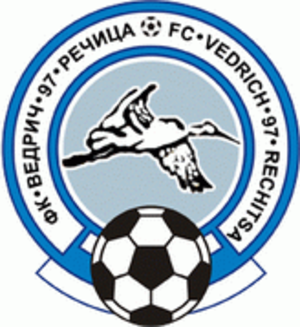 FC Rechitsa-2014 - Previous Vedrich-97 logo.