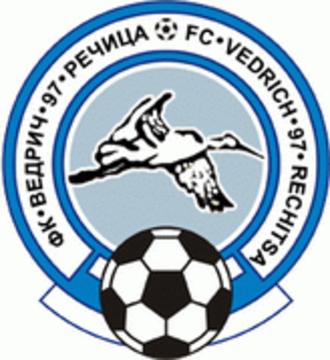 FC Rechitsa-2014 - Previous Vedrich-97 logo.