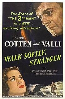 <i>Walk Softly, Stranger</i> 1950 film by Robert Stevenson