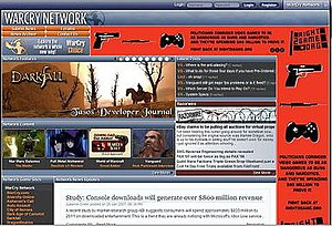 WarCry Network - Image: War Cry Network 2007 01 27