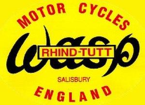 Wasp Motorcycles - Image: Wasp motor cycles logo
