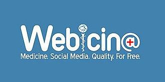 Webicina - Image: Webicina logo white