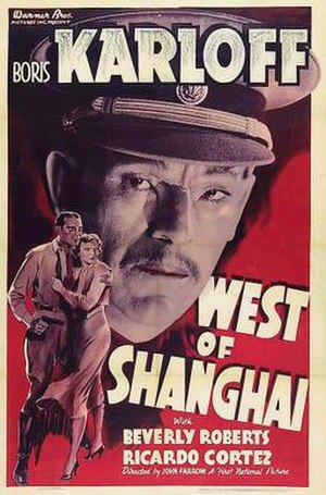 West of Shanghai - Film poster