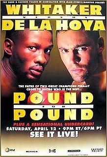 Pernell Whitaker vs. Oscar De La Hoya