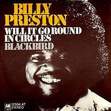 Image result for WILL IT GO ROUND IN CIRCLES BILLY PRESTON SINGLE IMAGES
