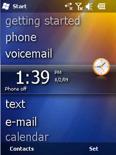 Windows Phone 6.5.3 screenshot